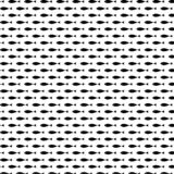 Beautiful black fish seamless pattern vector royalty free illustration