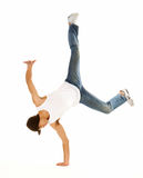 Awesome breakdancing moves Stock Photography