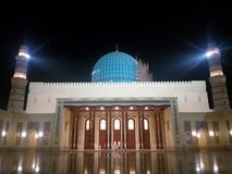 Sultan Qaboos Mosque Sohar Royalty Free Stock Photography
