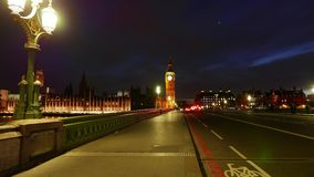Awesome day to night Time-Lapse-shot of Westminster with Big Ben London in 4k stock video footage