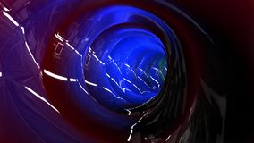 Awesome DJ Party Tunnel Animation stock video footage