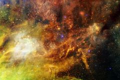 Awesome galaxy in outer space. Starfields of endless cosmos. Elements of this image furnished by NASA stock images