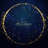 Awesome glitter sparkle background for christmas festival season. Illustration Royalty Free Stock Photo