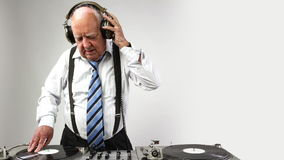 Awesome grandpa DJ