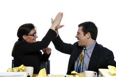 Awesome, High Five! Royalty Free Stock Photo