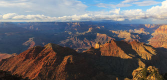 Awesome landscape of rock formation in the Grand Canyon Royalty Free Stock Image
