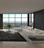 Awesome Modern Loft Living Room | Architecture Interior Stock Images