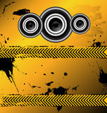 An awesome music design vector Stock Images