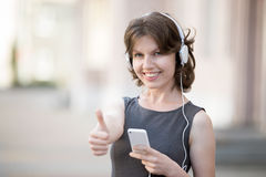 Awesome music online royalty free stock photo
