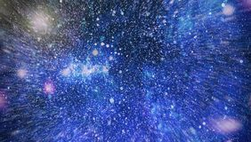 Awesome nebula in deep space. Galaxy and Nebula. Abstract space background. Royalty Free Stock Photos