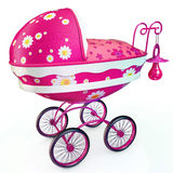 Awesome pink buggy Royalty Free Stock Photos