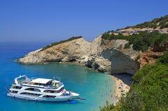 Awesome Porto Katsiki beach,Greece Stock Photo