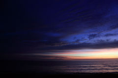 Awesome Purple and Blue Morning. Very Awesome Purple and blue morning Royalty Free Stock Image