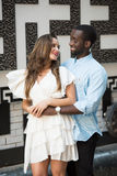 Awesome Romantic Couple Stock Images