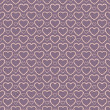 Awesome romantic seamless pattern in light pastel Royalty Free Stock Images