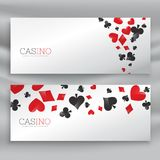 Awesome set of casino banners. Vector Stock Images