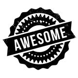 Awesome stamp rubber grunge Royalty Free Stock Photography