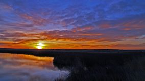 Awesome Sunrise Royalty Free Stock Images