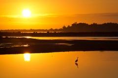 Sunrise at St Helena Tasmania. Awesome Sunrise at St Helena Tasmania royalty free stock photos