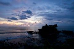 Sunset at Tanah Lot Bali. Awesome sunset at Tanah Lot Bali stock image