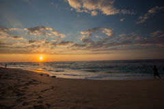 Awesome Sunseti in Hawaii Royalty Free Stock Photo