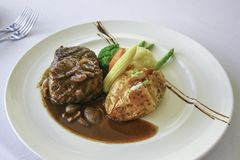 Awesome Tenderloin Steak royalty free stock photography
