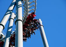 Awesome and thrilling Ride. royalty free stock photo