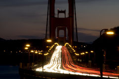 Awesome view of the Golden Gate Bridge Royalty Free Stock Photo