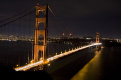 Awesome view of the Golden Gate Bridge Stock Image
