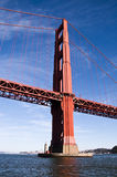 Awesome view of the Golden Gate Bridge Royalty Free Stock Image