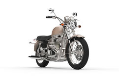 Awesome vintage chopper Royalty Free Stock Images
