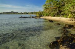 Awesome water view at Koh Ta Kiev - Cambodia Stock Images