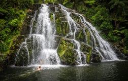 Awharoa Falls Stock Images