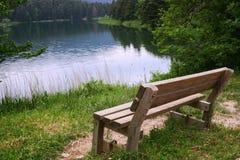 ławka drewniana Zdjęcia Stock