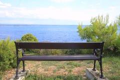 ławka drewniana Fotografia Stock