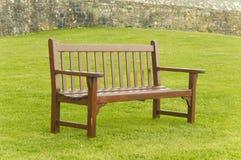 ławka drewniana Obraz Stock