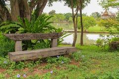 ławka drewniana Obrazy Stock