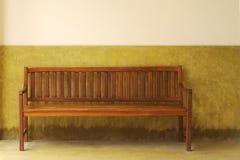 ławka drewniana Obraz Royalty Free