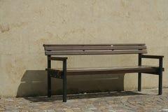 Ławka w miasteczku Zdjęcie Stock