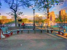 Ławka w Nowy Jork Zdjęcie Stock