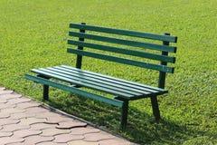 Ławka w parku Obrazy Stock