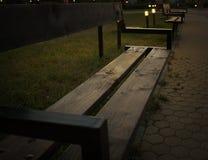 ławki Croatia parkowy ribnjak Zdjęcie Stock