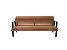 ławki drewniany parkowy Zdjęcie Stock