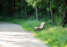 ławki parka cisza Zdjęcie Royalty Free