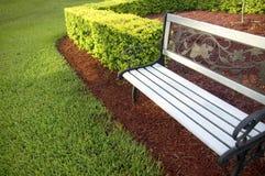ławki parku Fotografia Royalty Free