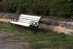 ławki parku obrazy stock