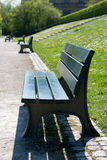 ławki parku Zdjęcia Stock