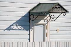 awning μέταλλο πορτών Στοκ Εικόνες