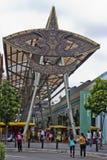 Awning σχεδίου Wau, περίπατος Kasturi, Κουάλα Λουμπούρ, Μαλαισία Στοκ φωτογραφία με δικαίωμα ελεύθερης χρήσης