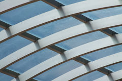 Awning. A photo of a translucent awning stock images